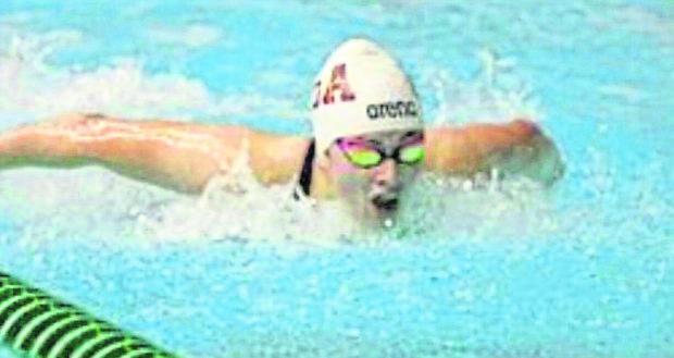 Swimmer Yasmin Perry.