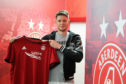 Aberdeen's new signing Greg Halford