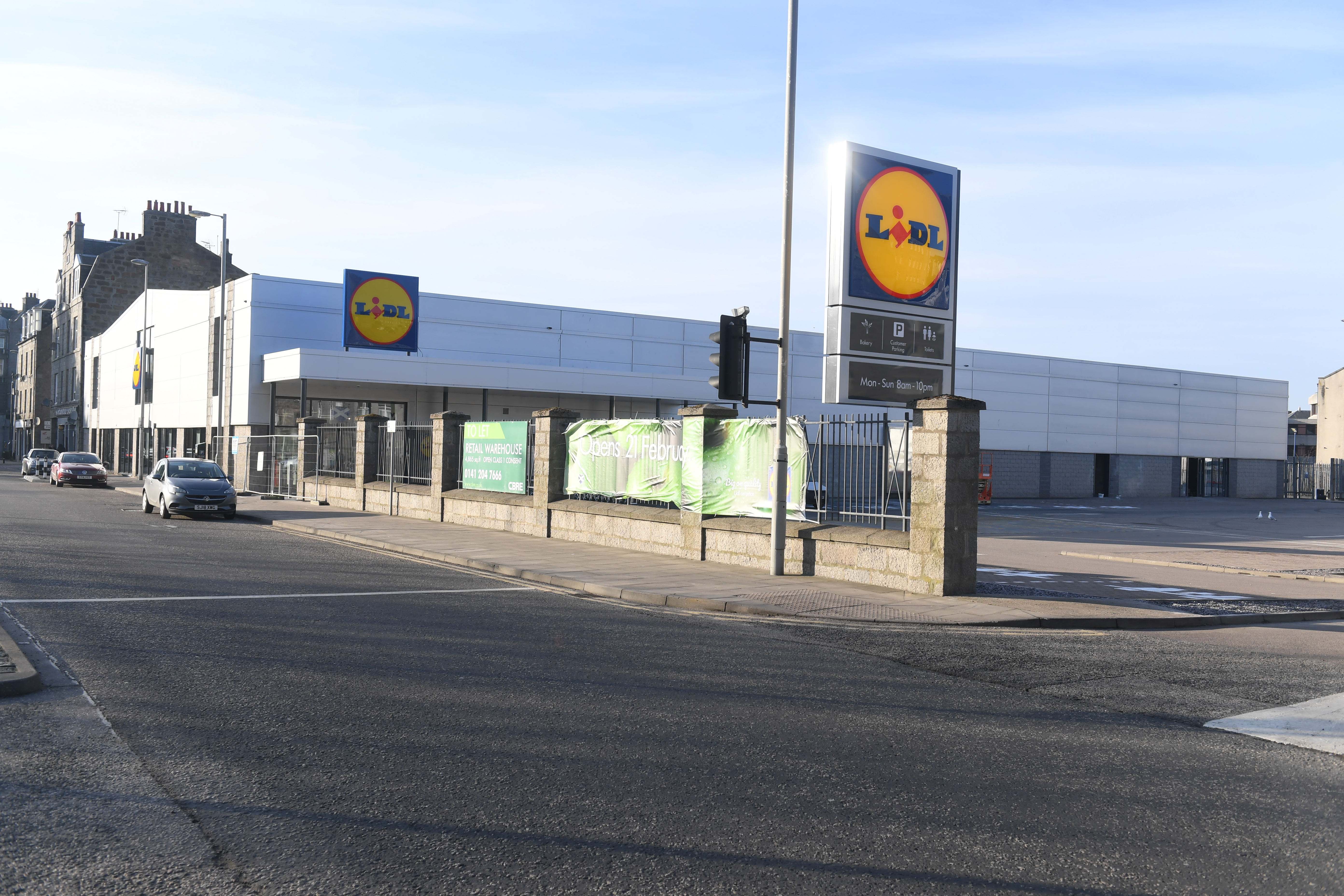 The new Lidl on Hutcheon Street will open its doors tomorrow