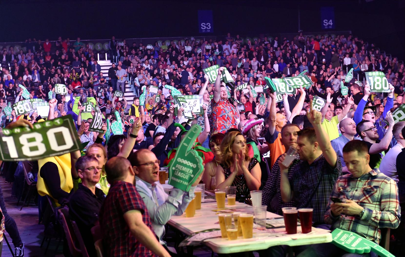 Last year's Premier League darts at the AECC.