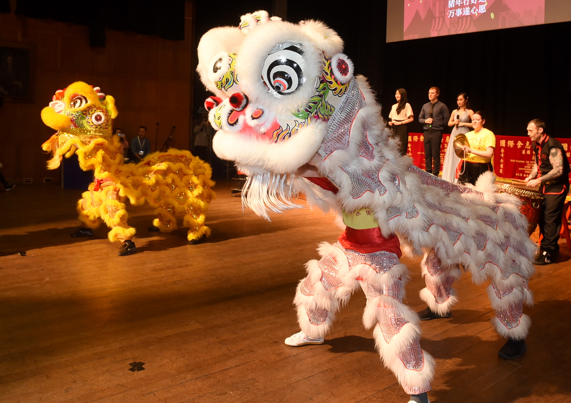 The Chinese new year gala show at Aberdeen University