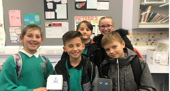 The pupils from Tullos School involved in the competition