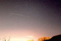 The SpaceX Dragon streaks across the sky. Picture by Steven Shanks
