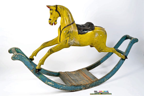 A rocking horse over 150 years old is one of the toys to be on show