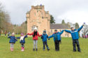 Crathes Castle has seen its visitor numbers go up in the past year