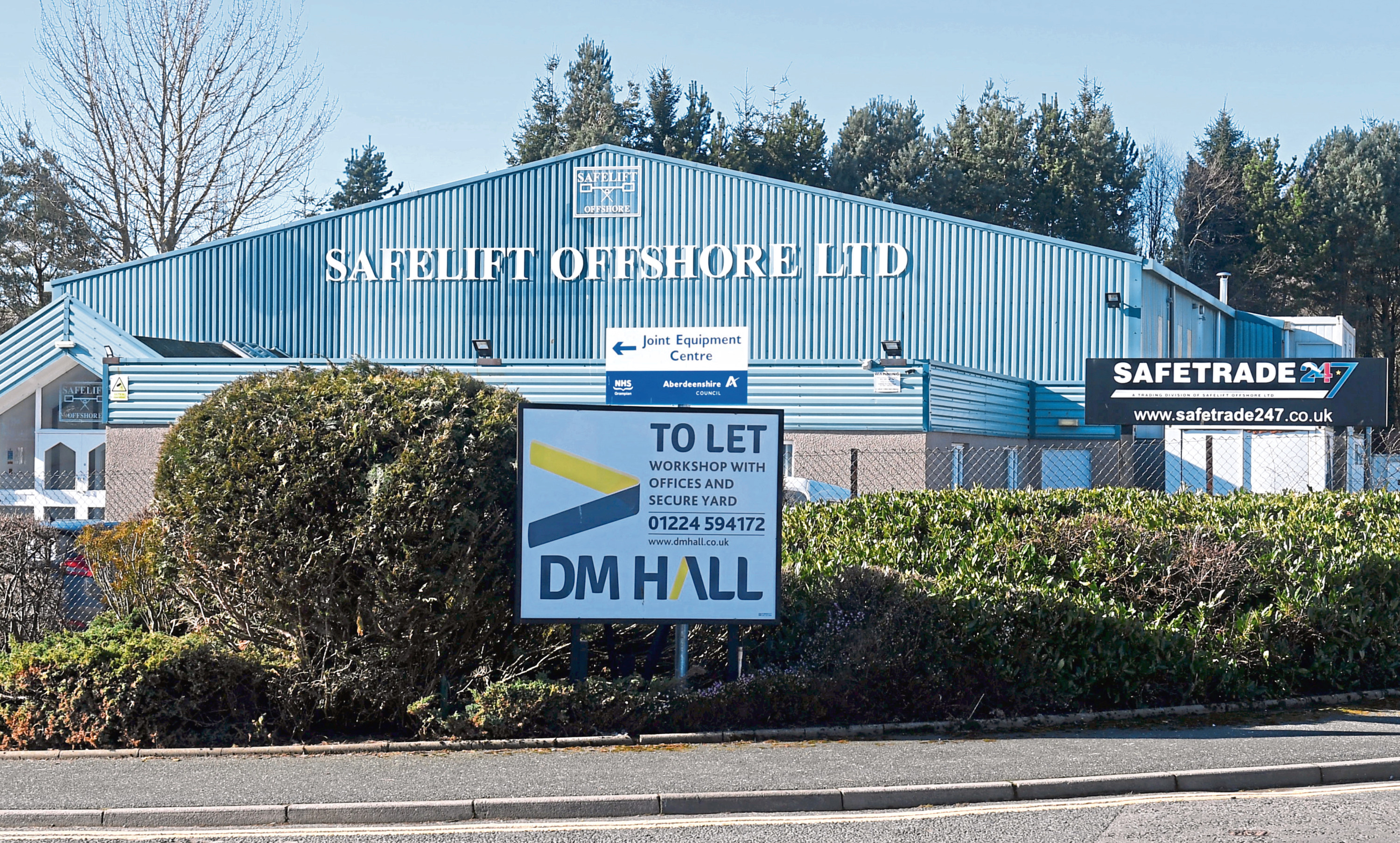 A gym plans to move into a former offshore building