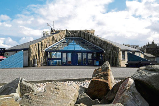 Carbon reduction projects such as a new seawater chiller at Macduff Aquarium have been postponed