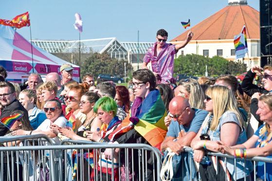 Last year's Grampian Pride event