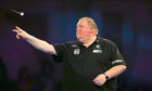 John Henderson during day twelve of the William Hill World Darts Championships at Alexandra Palace, London.