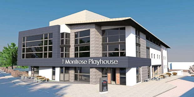 An artists impression of the Montrose Playhouse.