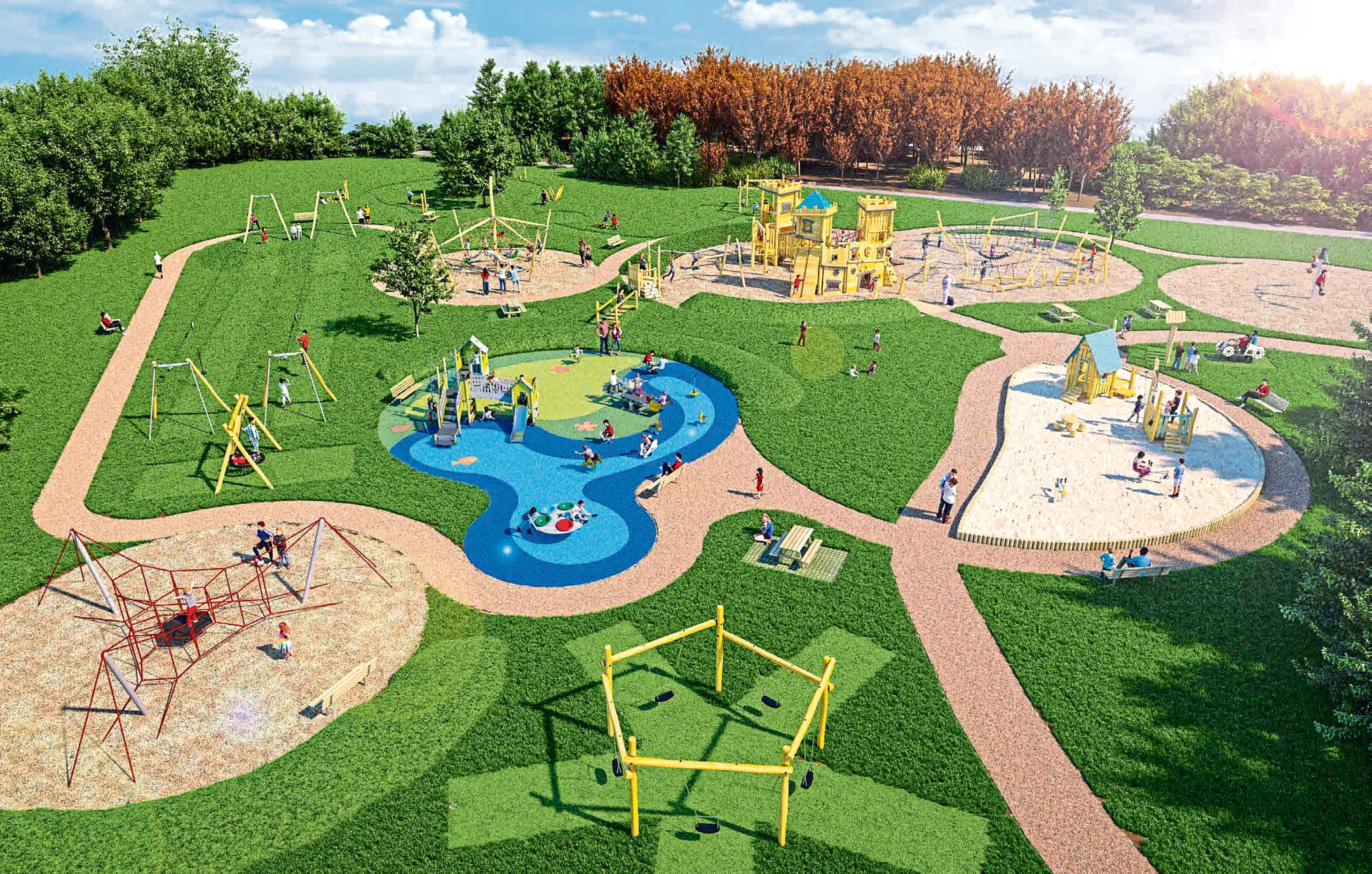 How the park could look when complete