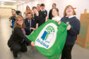 Aberdeen's Orchard Brae School has made its mark on the environment already in outstanding style, despite only opening 18 months ago