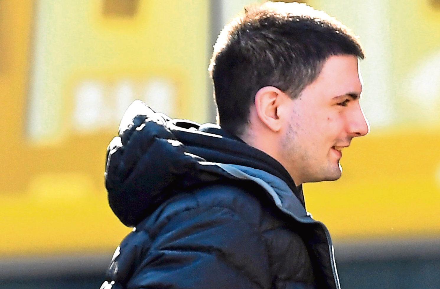 Paul Jessiman walked free from Aberdeen Sheriff Court