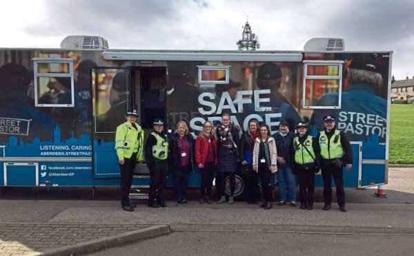 Some of those who took part in the Northfield operation, as community partners and local residents got together to discuss the area's issues
