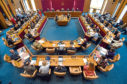 Aberdeen councillors ahead of budget talks earlier this month