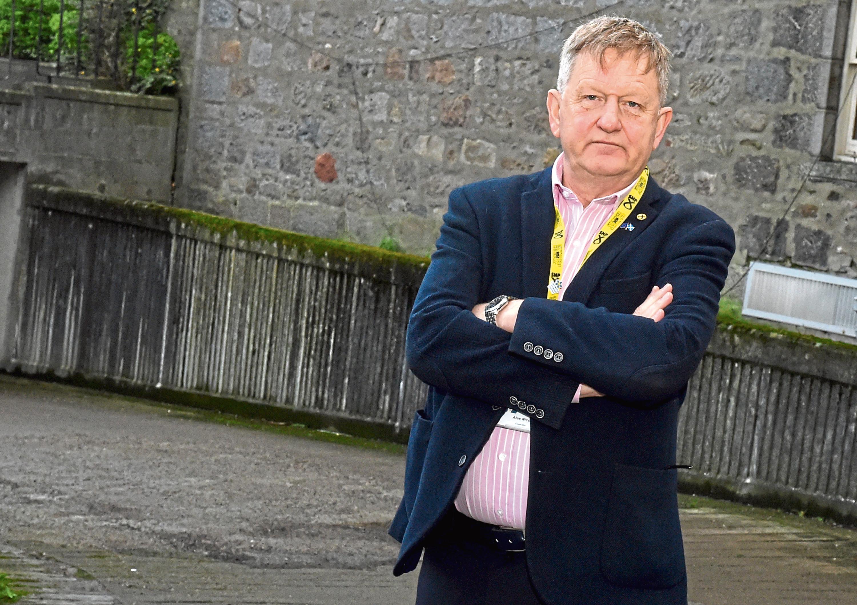 SNP group leader Alex Nicoll