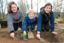 Gracie Leece, 10, Adam MacGregor, 10, Amy Wilson, 11