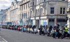 The scooters on Union Street