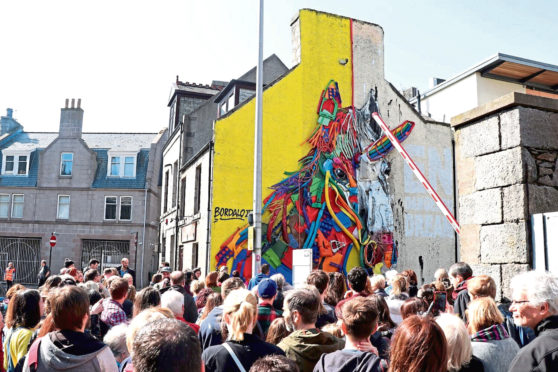 The popular Nuart walking tours will be returning for this year's festival