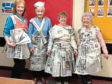 Wilma Williamson, Vera Stephen, Dee Foulds and Nan Murison