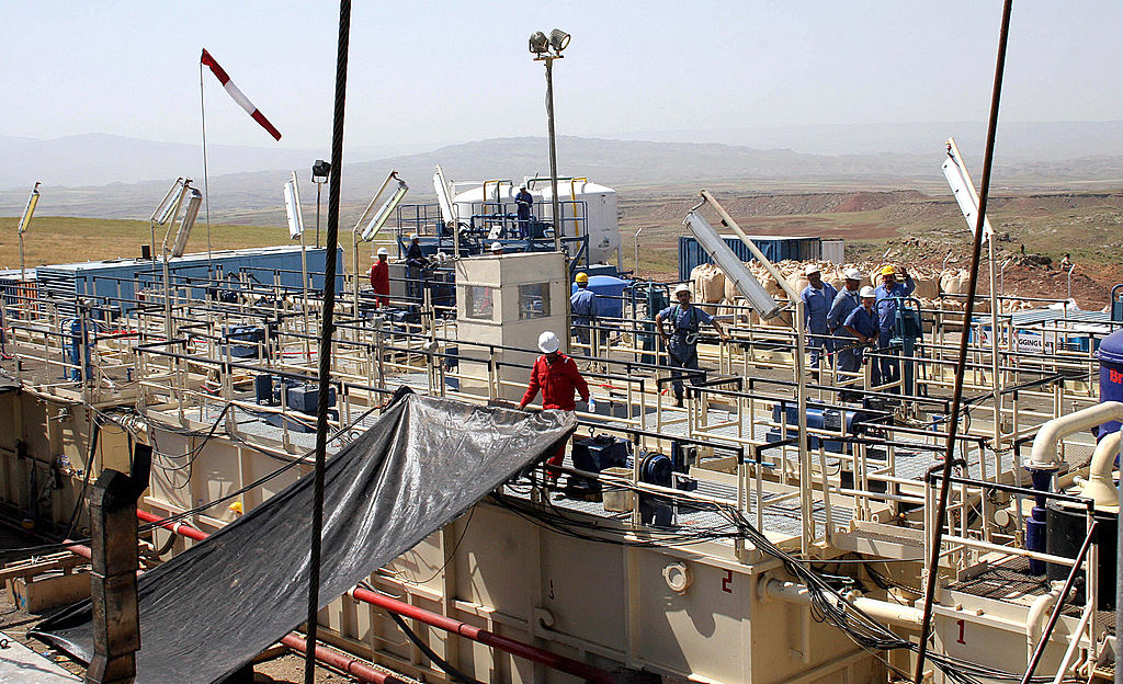 The contracts will see the firm constructing a new land rig in Iraq
