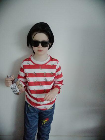 Josh Wallace, 7, Westpark Primary as Ratburger by David Walliams