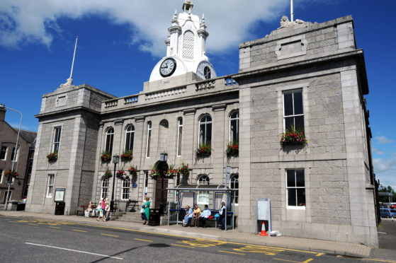 Some of the events will be taking place at Inverurie's town hall