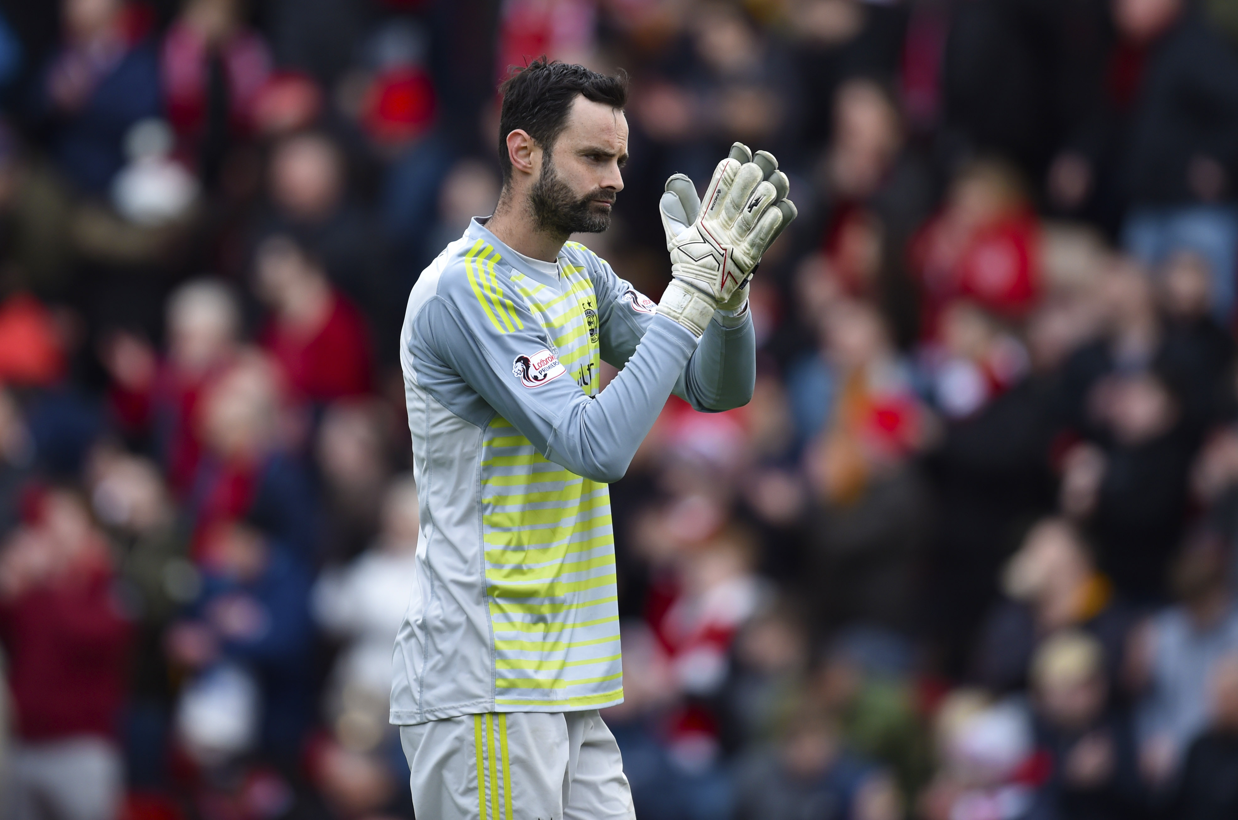 Joe Lewis has yet to win a trophy with the Dons.