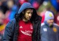 Aberdeen's Niall McGinn at full-time.