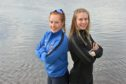 Jenny McCormick of Aberdeen University, left, and RGU's Rosie Payne