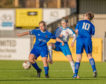 Cove's ladies side in action.
