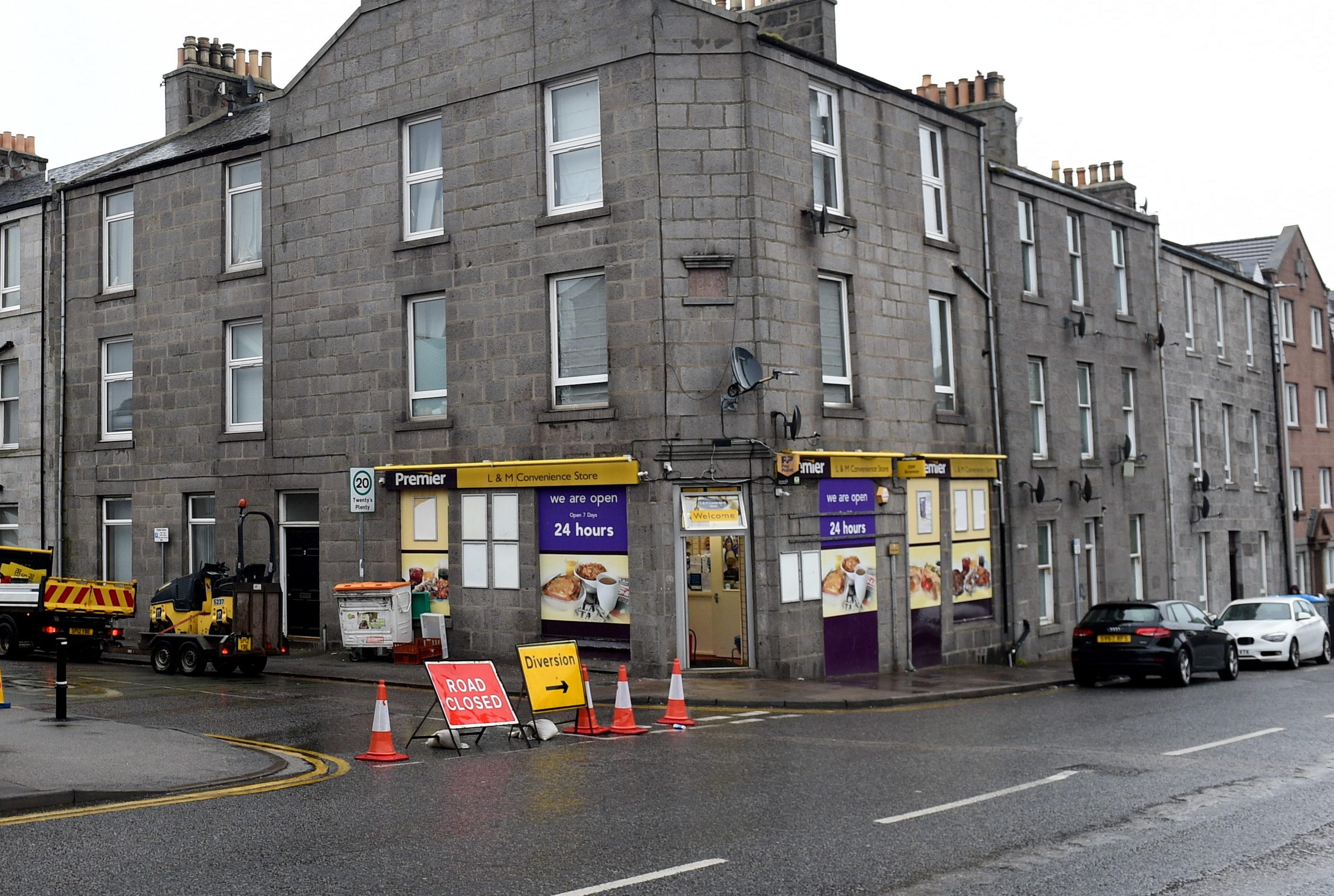 The shop on Hutcheon Street