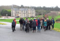 Aberdeenshire councillors visit the site of the plans