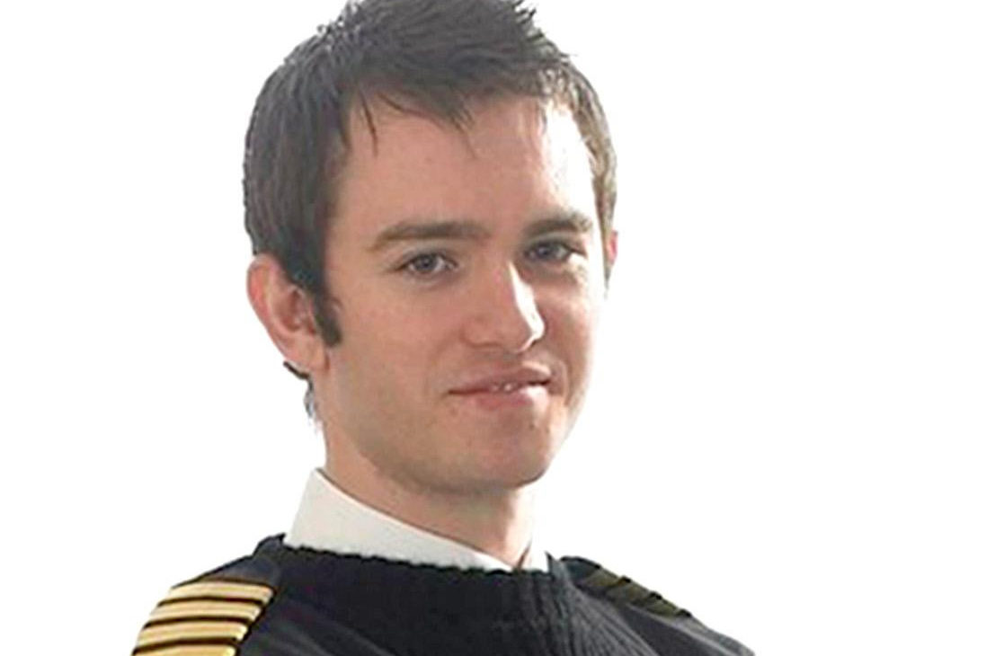 Co-pilot Richard Menzies