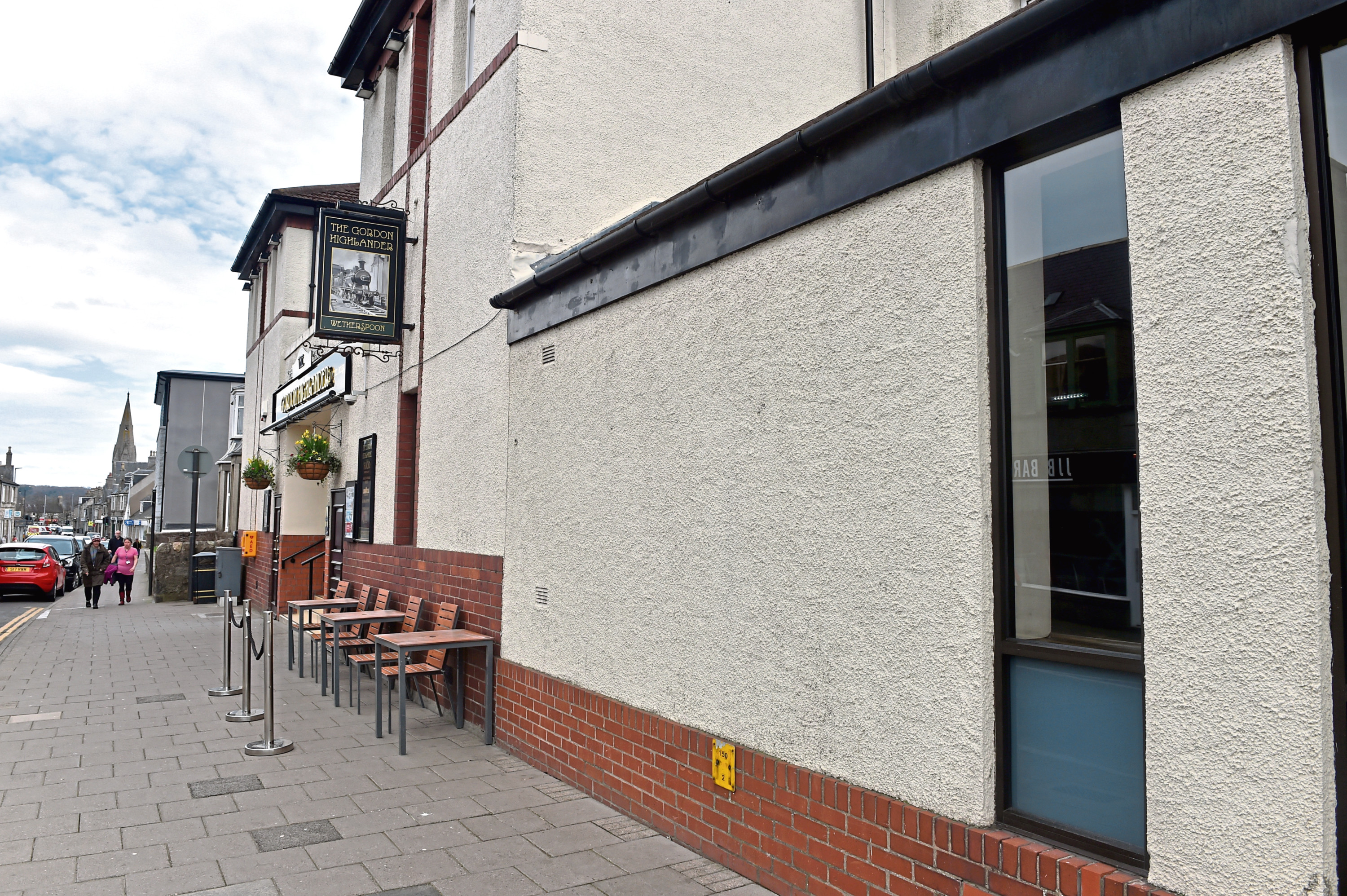 The Gordon Highlander in Inverurie has lodged plans to create a new beer garden