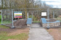 Work has started on the Westhill Gateway sculptures
