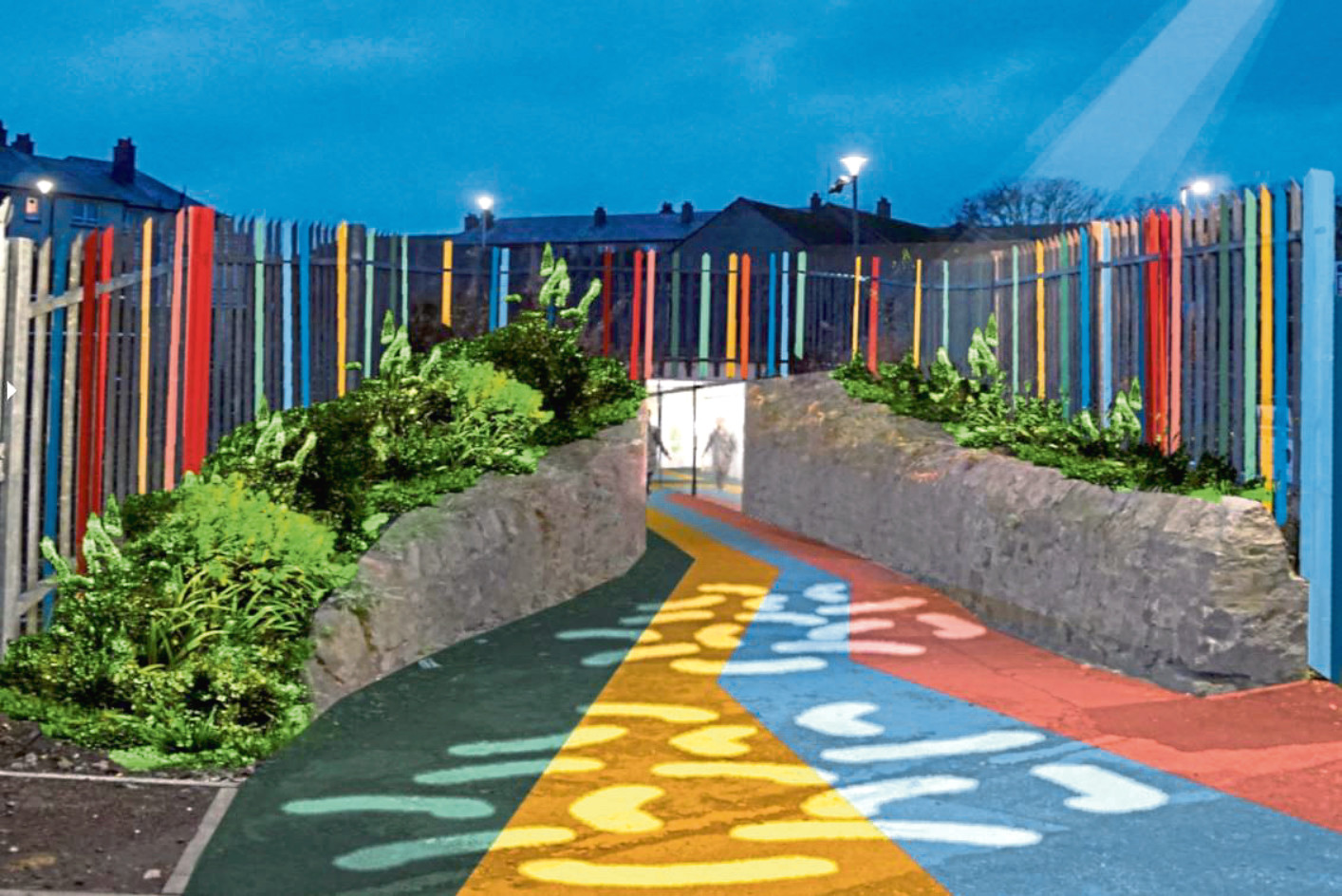 How the Hayton Road underpass could look