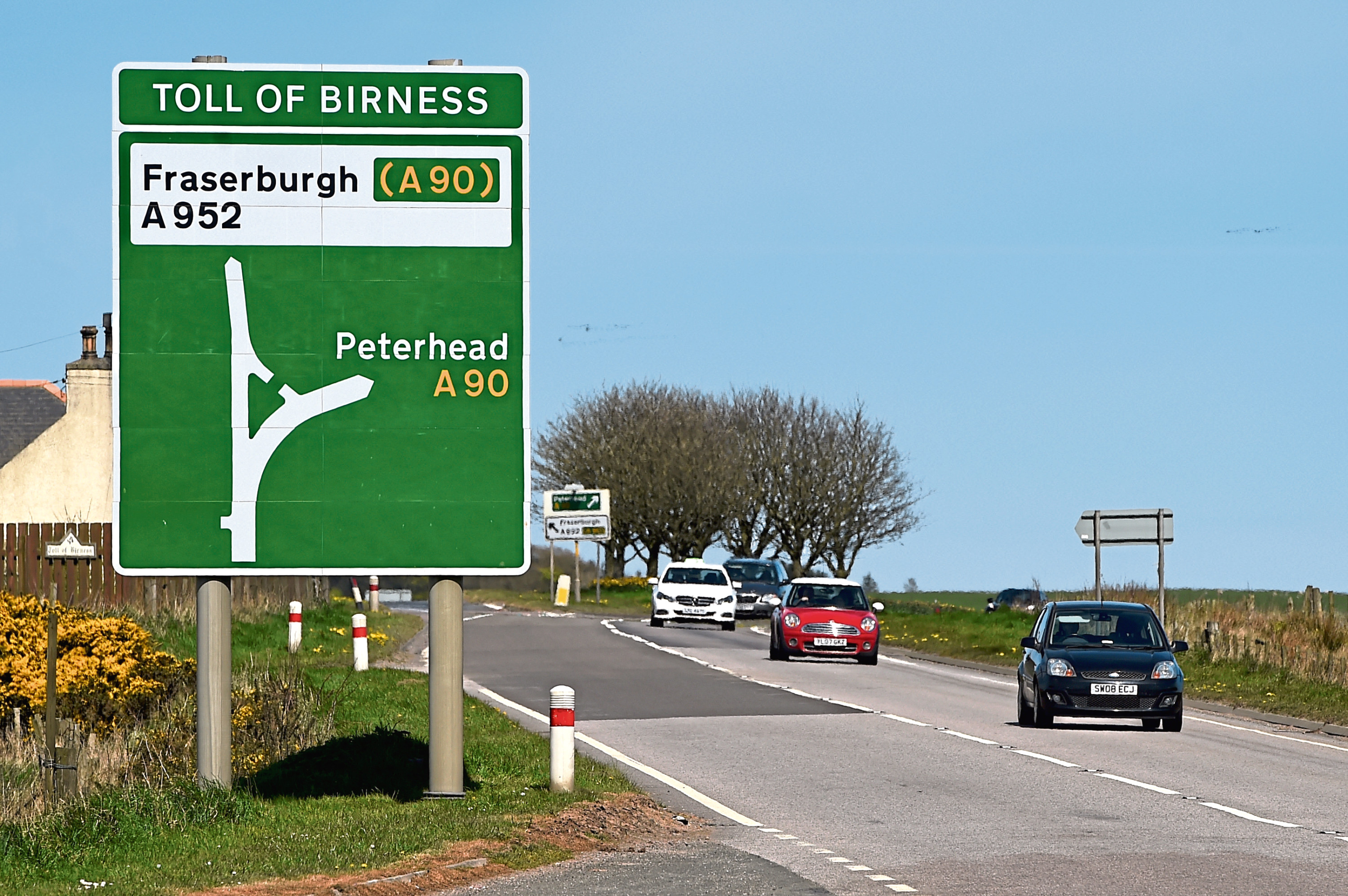Councillors have called for roads in Buchan to be improved