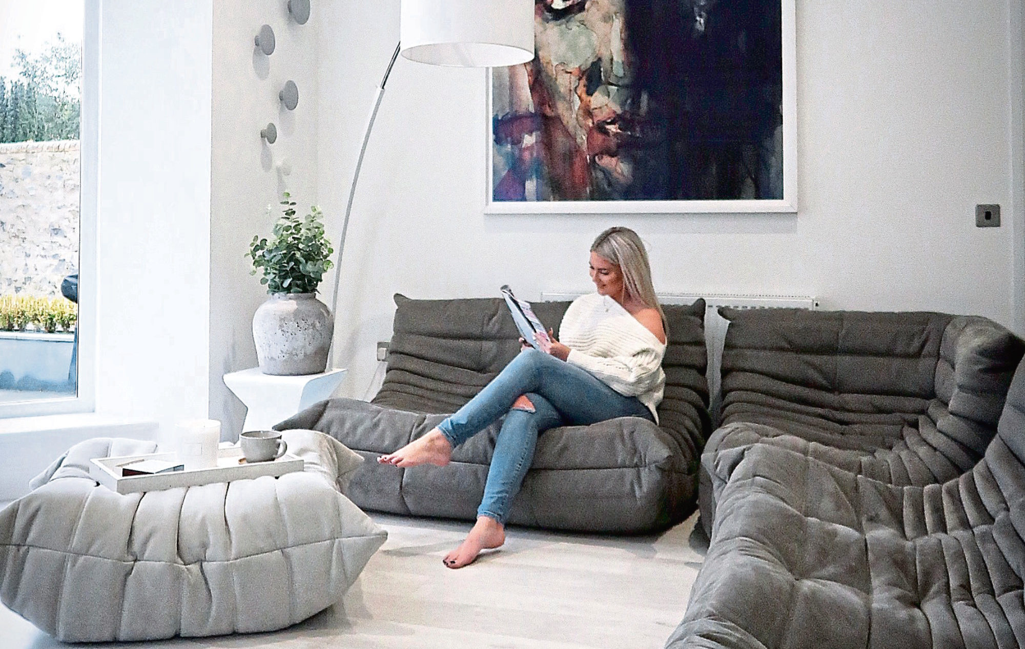 Nikki Brown in her home