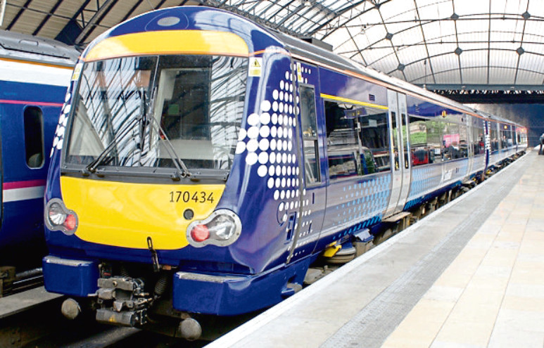 Services to and from Aberdeen have been affected