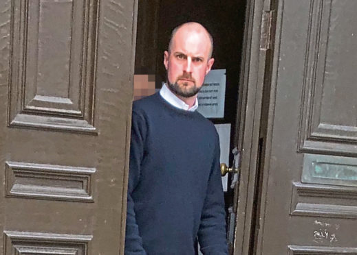 David Barrie appeared at Aberdeen Sheriff Court