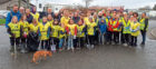 The team involved in Saturday's litter pick