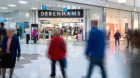 The Debenhams store in the Trinity Centre