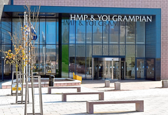 The mental health nurse was  working at HMP Grampian