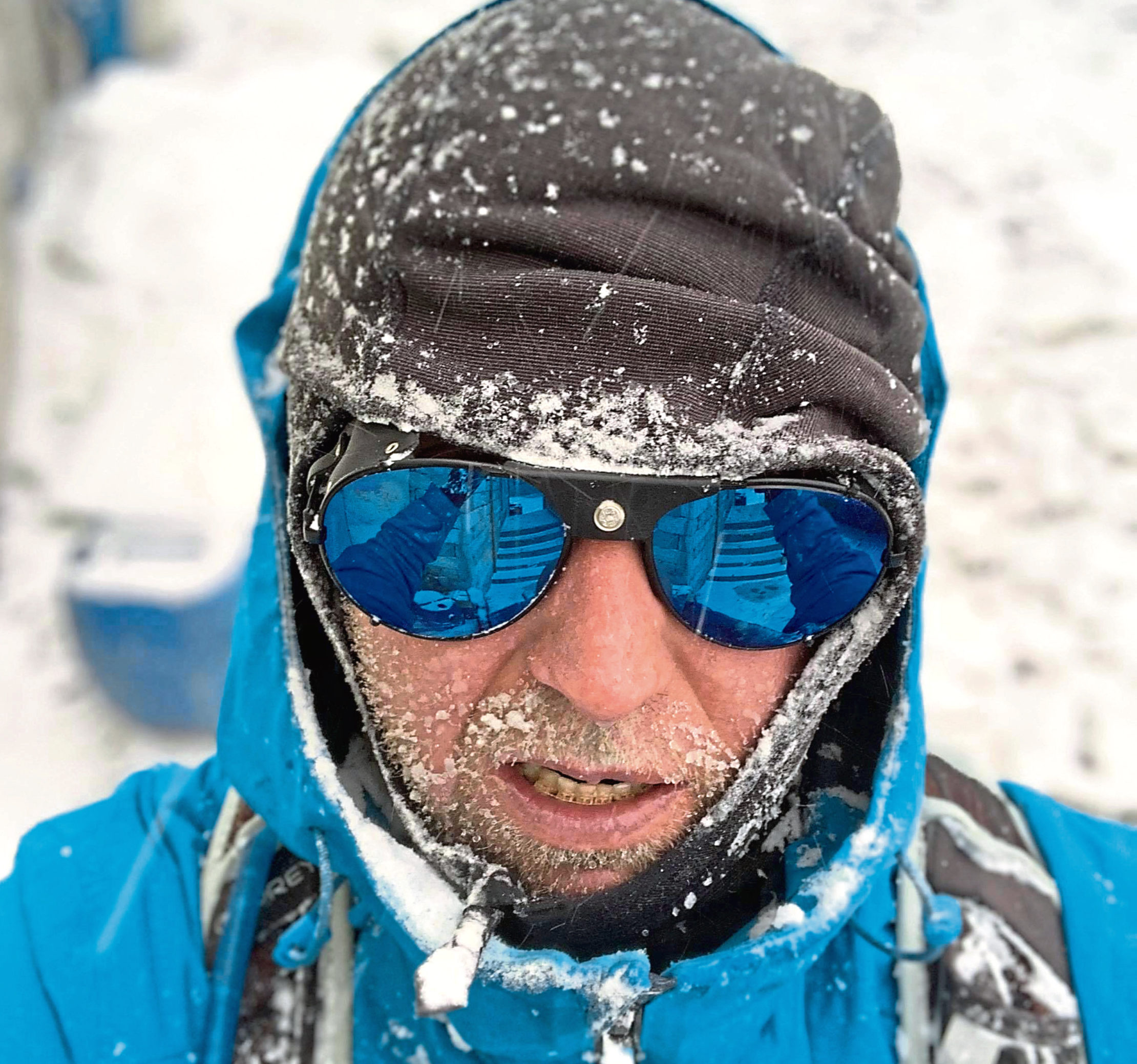 Robert Strachan climbed to Mount Everest's base camp