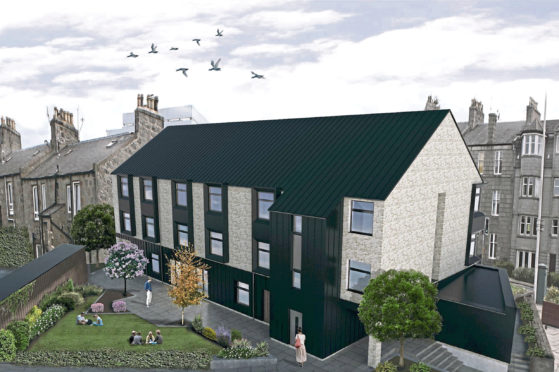 An artist impression of the planned VSA development