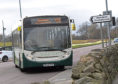 With an average of seven passengers a day, Councillor Martin Greig is concerned for the future of the crematorium bus service