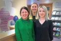 Tina O'Boyle, Sarah Cuthill and Karen Gardner