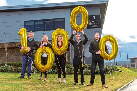 Cala Homes has handed out £10,000 to groups across the region