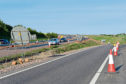 Roadworks will take place again on one of the sliproads off the A90 into Stonehaven